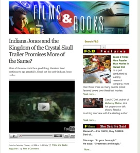 About Indie Films & Books