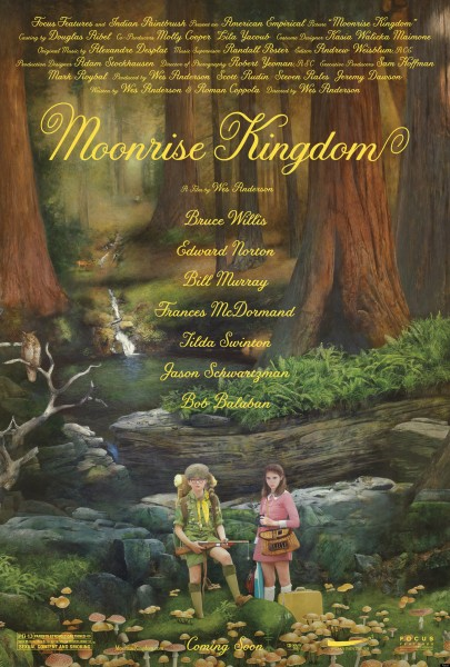 Move Poster for Moonrise Kingdom Indie Film