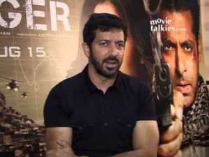 Kabir Khan at a promo for Ek Tha Tiger