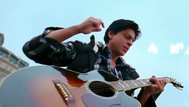 SRK stars in another Yash Copra Romance, said to be the hottest movie of 2012