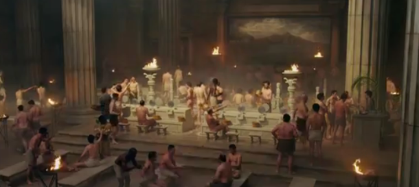 Thermae Romae is a spectacle as well as comedy movie