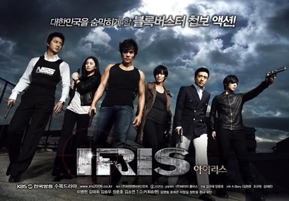 Lee-Byung Hun helped make Iris the number one hit of the year 2009 in Korea. The show went on to popularity in many other countries.