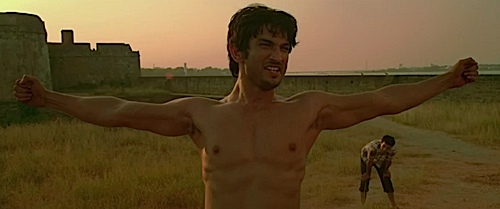 A scene from Kai Po Che.