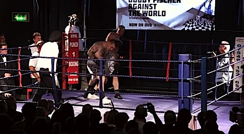 Chessboxing is a popular niche sport in Europe, England and California, growing into mainstream consciousness through the efforts of people such as David Bitton, director of Chessboxing: A King's Discipline.